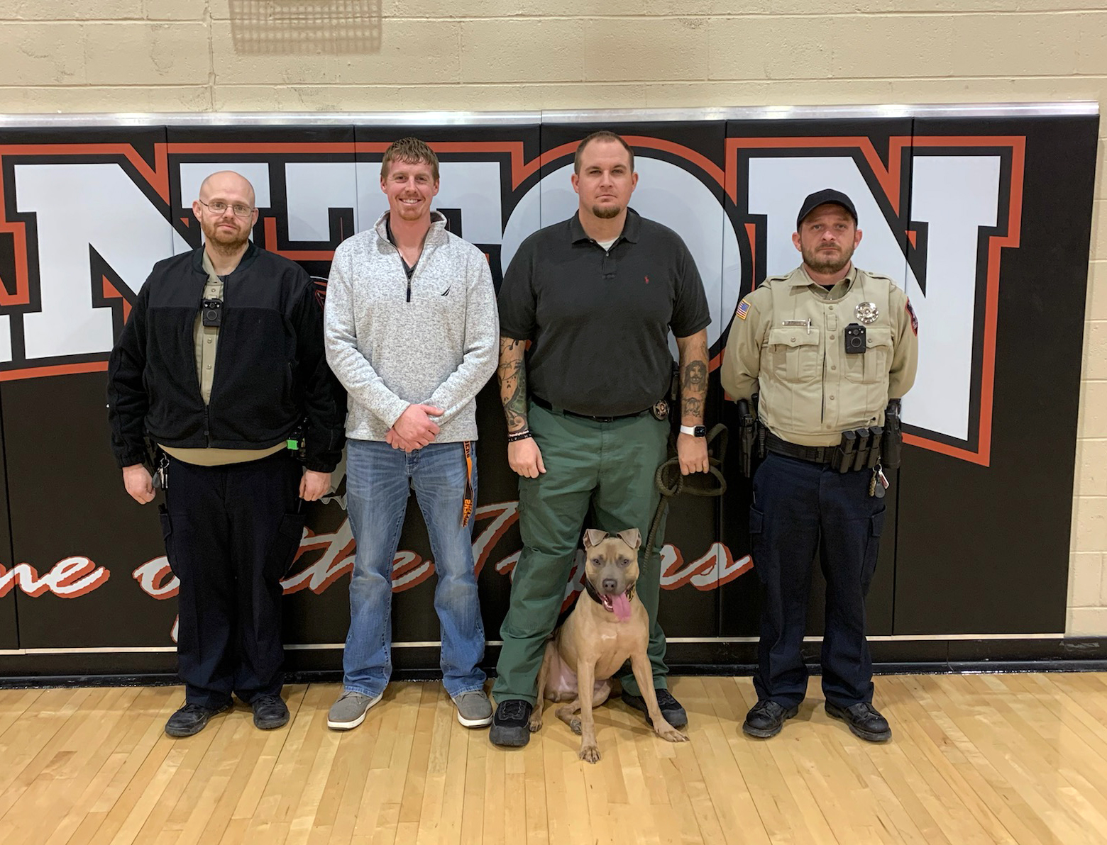 Blaine County Sheriff's Office visits area schools.